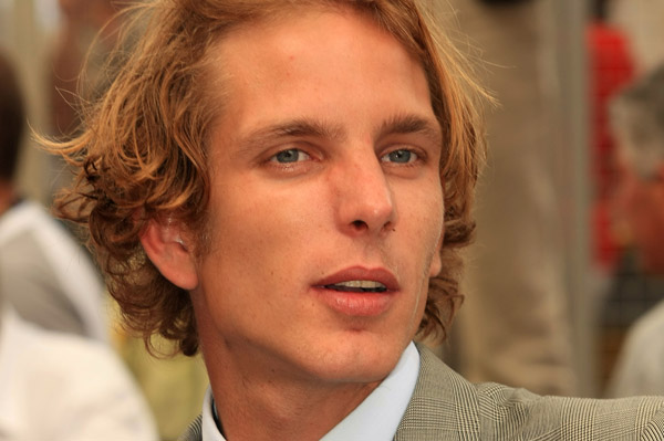 Andrea Casiraghi of Monaco