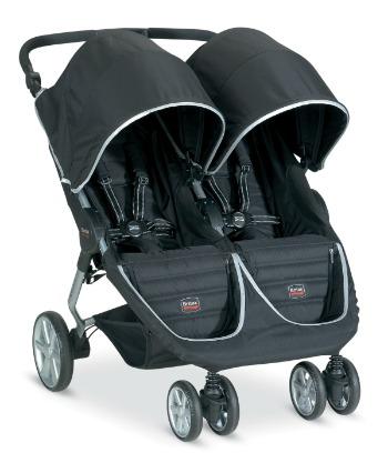 b-agile double stroller