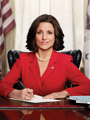 Veep right mix of funny & smart