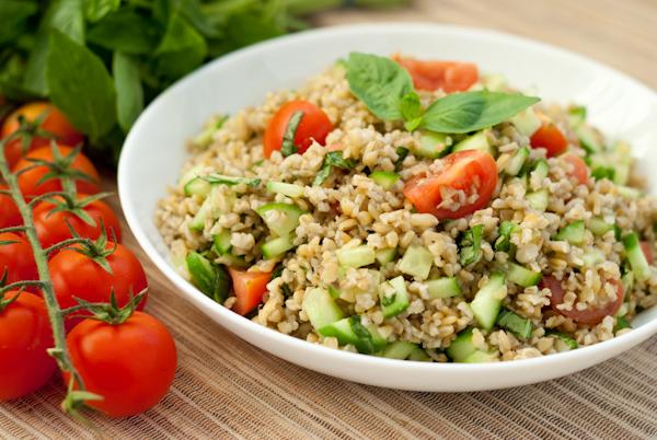 Freekeh salad superfood recipe