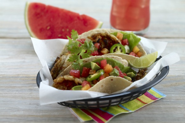 jamaican rock lobster tacos recipe jamaican rock lobster tacos 600x399