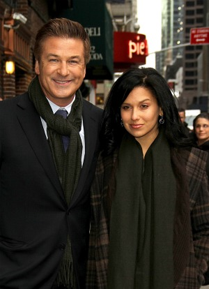 Alec Baldwin & Hilaria Thomas