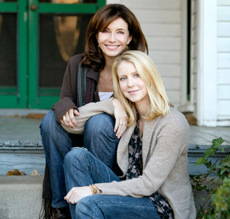 Mary Steenburgen and daughter