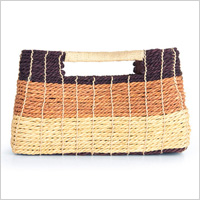 Straw bag