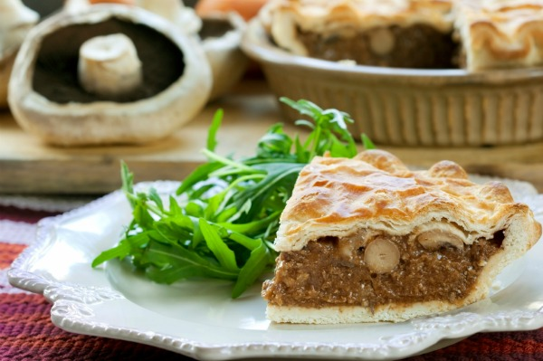 Winter beef pie