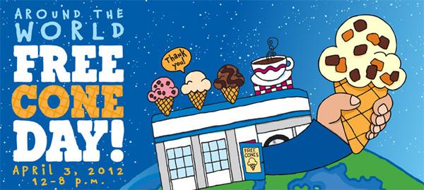 I scream, you scream! Yay for free ice cream!