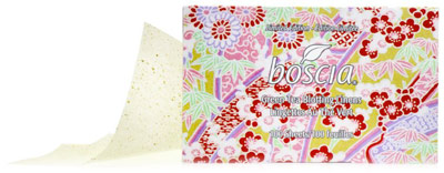 Boscia Limited Edition Green Tea Blotting Linens ($10)