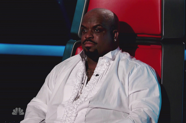 Cee Lo Green disappointed in his team on The Voice
