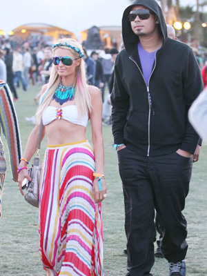 Paris Hilton and DJ Afrojack