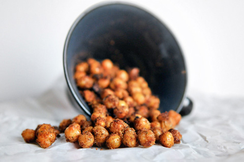 toasted ranch chickpeas for family movie night