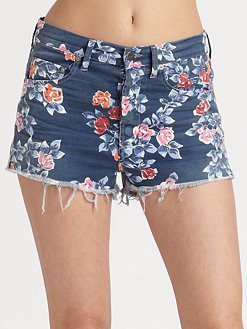 Chloe High Waisted Cut Off Shorts