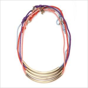 tribal strand necklace