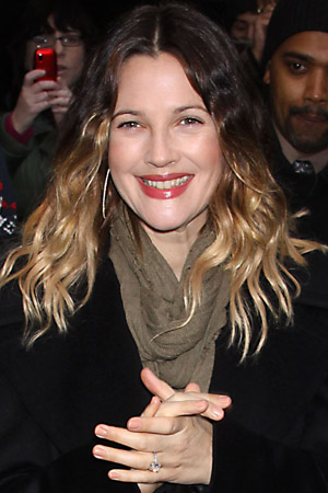 Is Drew Barrymore pregnant? It looks like it