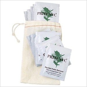 Priti soy nail polish remover wipes
