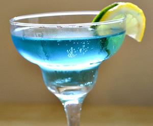 Blue Sea Martini