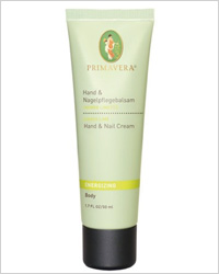 PRIMAVERA Energizing Ginger and Lime Hand and Nail Cream