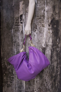 purple Elefante handbag by Arnoldo][Battois
