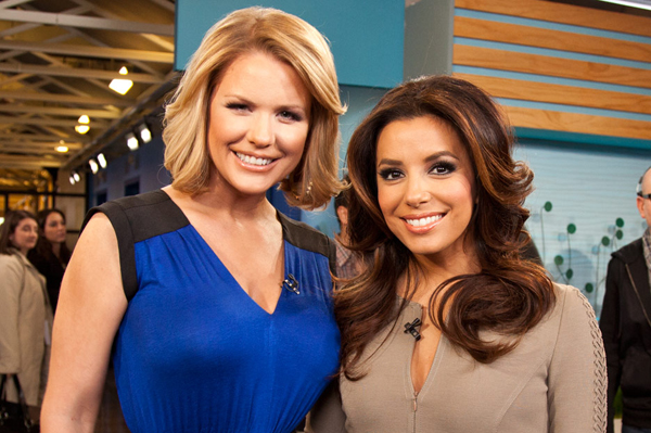 Eva Longoria on VH1's Big Morning Buzz Live with Carrie Keagan