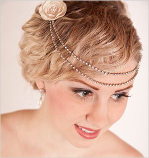 Bridal hair accessories for your personality