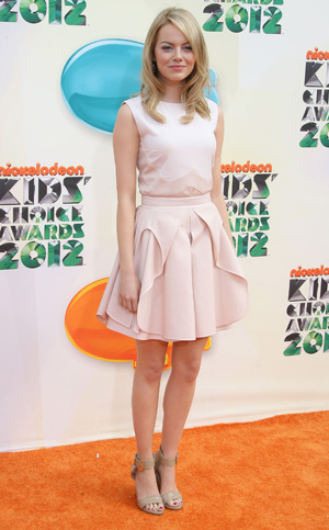Emma Stone at the Kids Choice Awards