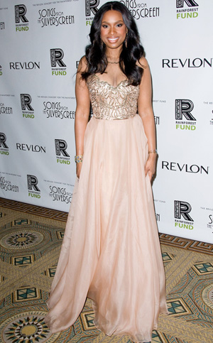 Jennifer Hudson at Revlon's concert for The Rainforest Fund