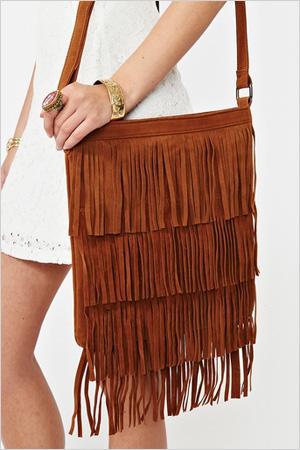 Hudson fringe bag