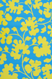 Outdoor Rugs Only Oslo Turquoise & Lemon Yellow
