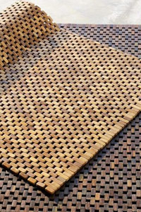 West Elm Wood Block Rug