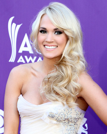 Carrie Underwood at the 2012 ACM Awards