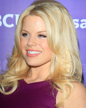 Megan Hilty's makeup