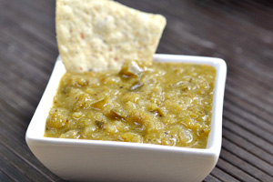 Green verde salsa