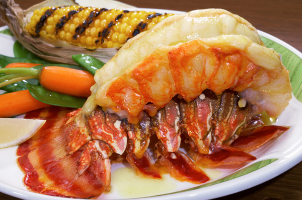 how to cook large lobster tails on the grill
