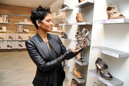 Halle Berry at Deichmann