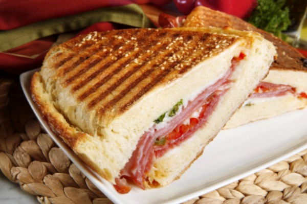 panini grill pressed italian party italian pork panini grilled smoked ...