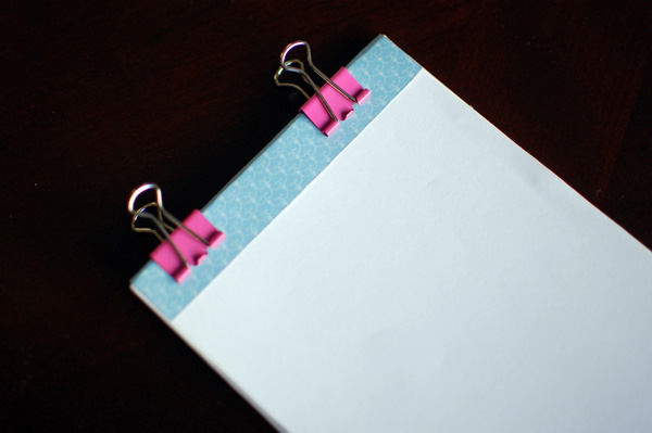 How to make your own personalized notepads