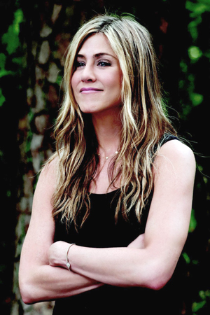 Jennifer Aniston on the newly engaged Brad Pitt and Angelina Jolie
