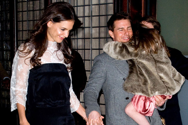 Katie Holmes pregnant? Maybe, maybe not