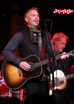 Houston received two letters from Costner