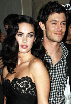 Adam Brody with Megan Fox