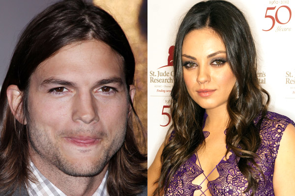 Mila Kunis dating Ashton Kutcher