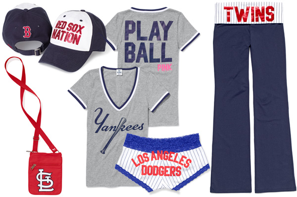 MLB Victoria Secret Pink collection