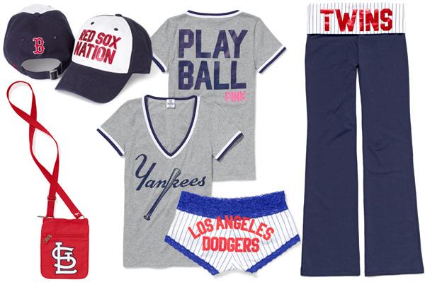 MLB Victoria Secret Pink collection