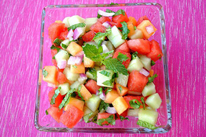 Mojito mango salsa