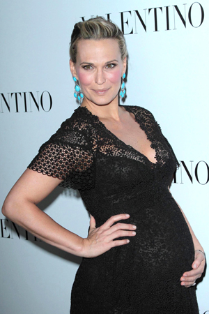Molly Sims expecting a boy!