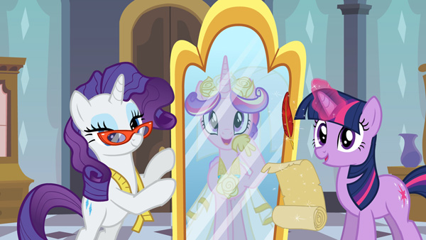 My Little Pony wedding fashion