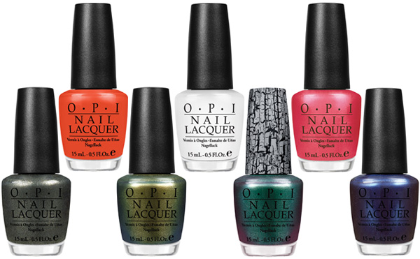 OPI Spider-Man nail polish collection