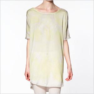 Trendy pastel t-shirt