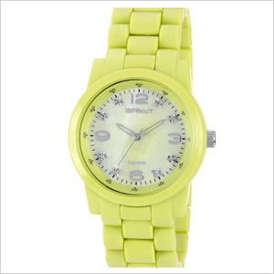 On-trend pastel watch