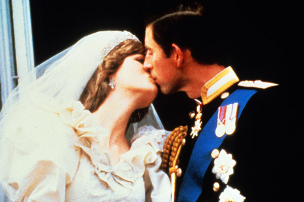 Prince Charles and Princess Diana wedding