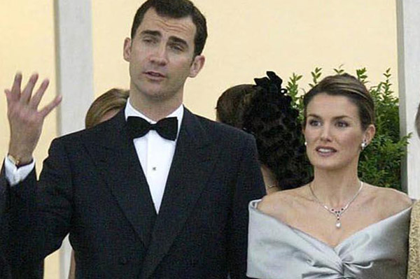 Prince Felipe and Letizia Ortiz